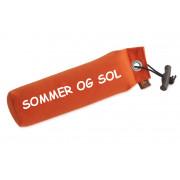 Dummy Standard - 500gr Orange med tekst