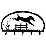 Nøkkelholder - Jumping Labrador Retriever