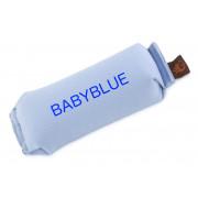 Basic 250gr - Lysblå Canvas med tekst