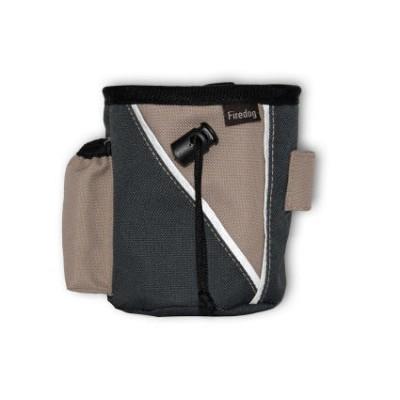 Treat Bag Large - Beige/Mørkgrå