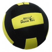 Neopren Ball - 16cm Sort/Gul