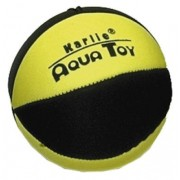Neopren Ball - 9cm Sort/Gul