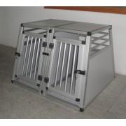 RETREQ Dobbelt Aluminiumsbur